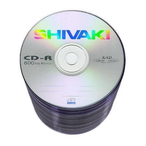 Nośniki danych Shivaki CD-R 52x - 25 sztuk
